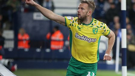 Jordan Rhodes wants to help Norwich City finish the job off and earn promotion Picture: Paul Chester