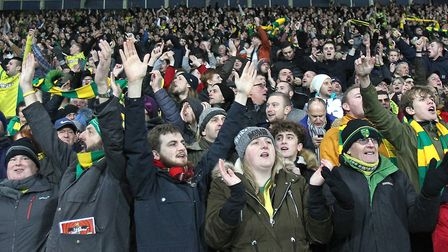 Norwich fans travelled in big numbers to West Brom Picture: Paul Chesterton/Focus Images Ltd
