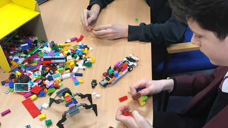 Hellesdon High School in Norwich is asking for donations of Lego to expand its provision of Lego the
