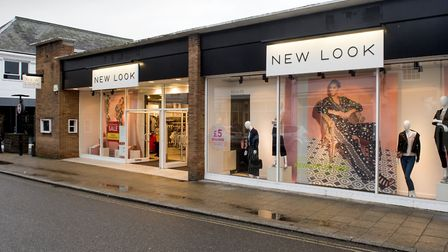 New Look store, Beccles.