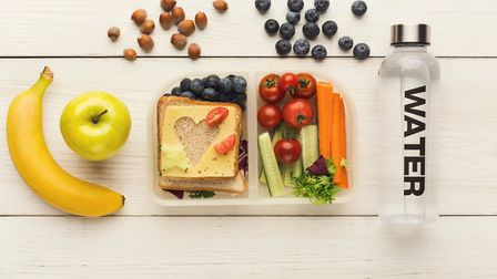 A healthy school lunch. Picture: Getty Images/iStockphoto/Milkos