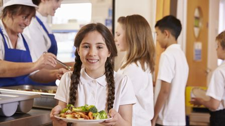 School dinners have already been through changes to bring in healthier, fresher produce. Picture: Ge