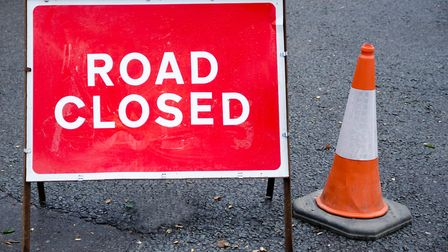 A crash has closed the road. Picture: Getty