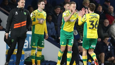 Kenny McLean and Jordan Rhodes underlined their cases for a Norwich City start, after coming off fro