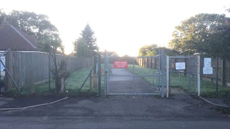 Mountfield Park in Hellesdon, which is currently closed. Picture: David Hannant