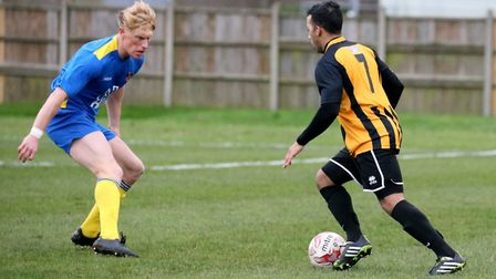 Tiago Pascoal back in action for Bloaters Picture: STEVE WOOD