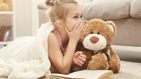 Little girl with her teddy bear. Picture: Getty Images/iStockphoto