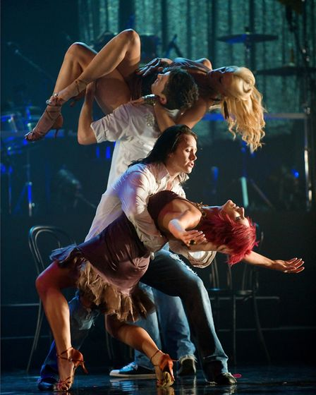 Kevin Clifton performing in a Burn The Floor production. Picture Burn The Floor.