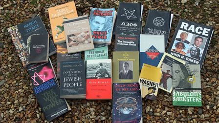 Residents of a quiet west Norfolk village were left in shock to find a number of Nazi literature in