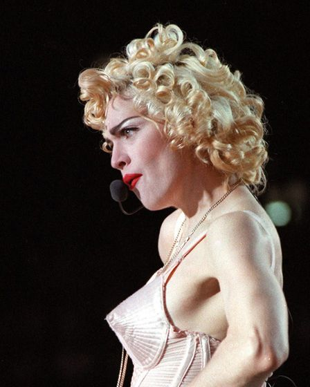 Madonna was one of the stars whose cassettes gained big sales Picture: PA
