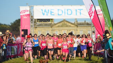 Race for Life at Houghton Hall. Picture: Ian Burt