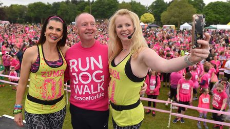 Thousands of competitors take part in the 2018 Norwich Race For Life.Picture: Nick Butcher