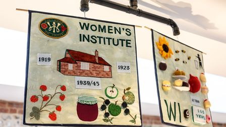 The launch of the Wells Community Tapestry at Wells Maltings. Picture: Matthew Usher/Wells Maltings.