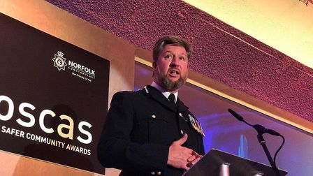 Norfolk chief constable Simon Bailey. PIC: Neil Perry