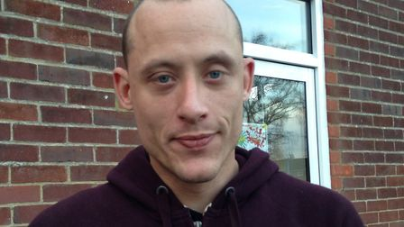 Nathan Lowe, 27, from Heartsease, Norwich, visited the foodbank after he was left with little money