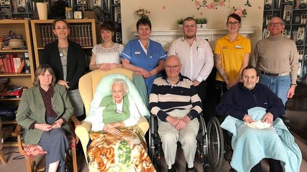 Staff and residents at Burlingham House celebrated a good CQC rating after their recent inspection.