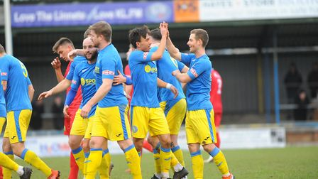 King's Lynn Town were 3-2 home winners over Barwell Picture: Tony Thrussell