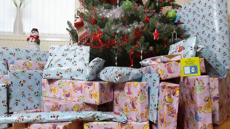 Where do you put the vast amounts of stuff that you seem to accumulate over the festive period? Pict