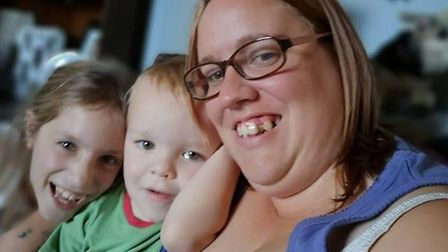 Her two children, aged 7 and 3, are allergic to chlorine and haven't been able to have their routine