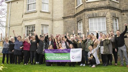 Harleston House in Lowestoft is rated Outstanding by the Care Quality Commission (CQC). Picture: Gre