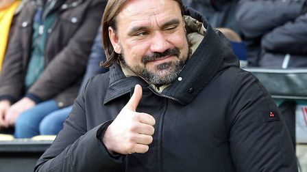 Daniel Farke takes Norwich City to promotion rivals Leeds United this weekend Picture: Paul Chestert