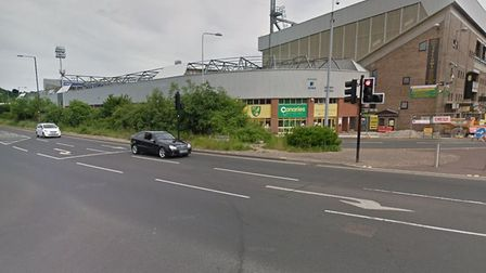 A road rage incident happened on Carrow Road near to the Wherry Road junction. Picture Google.