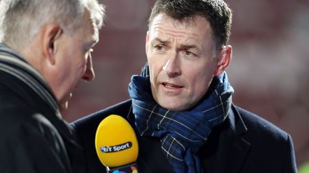 Former Canaries striker Chris Sutton works as a pundit on TV and radio Picture: PA