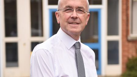 Thorpe St Andrew School principal Ian Clayton is set to retire after 40 years in teaching. Picture:
