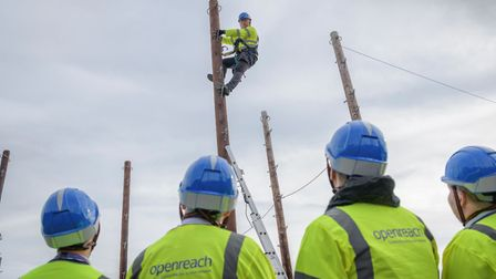 New trainee engineering jobs working for telecommunications division Openreach are available in Norf