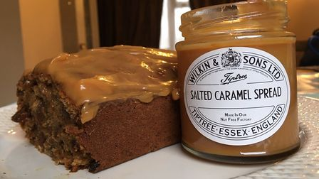 Sticky date, spice and caramel cake Picture: Archant