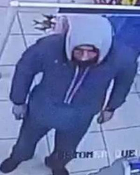 Police hope to track down this man in connection with a fraudulent use of a stolen bank card in Norw
