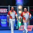 Paul Foster (left) and Alex Marshall have won the World Pairs title for the fourth time Picture: STE