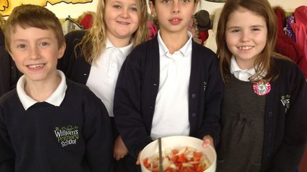 St William's Primary School's annual Food Festival. Each year group chose a different country or cul