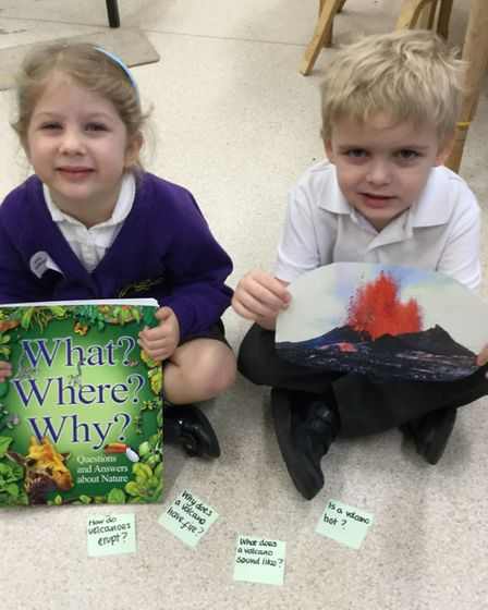 Last week in Reception at Queen's Hill Primary School, the focus Growth Mindset was curiosity. The c