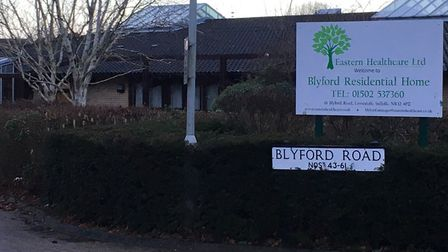 Blyford Residential Home in Lowestoft. Picture: Mark Boggis