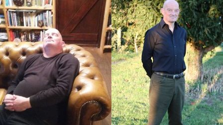 Andy Jameson lost 10 inches from his stomach. Photo: Courtesy of Weight Watchers