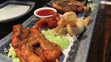 Mixed hors d'oeuvres at Attleborough's Royal Garden restaurant. Picture: STUART ANDERSON