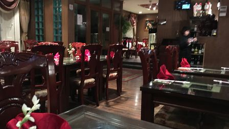 Inside the Royal Garden CHinese restaurant in Attleborough. Picture: STUART ANDERSON
