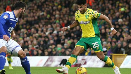 Cuban winger Onel Hernandez has been an important played for City boss Daniel Farke this season Pict