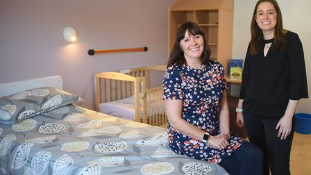 Operations manager at the new Kingfisher Mother and Baby Unit at Hellesdon Hospital, Susan Stolworth