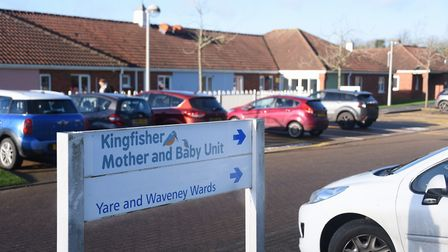 The new Kingfisher Mother and Baby Unit at Hellesdon Hospital. Picture: DENISE BRADLEY