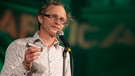 Simon Munnery will be coming to Norwich. Picture: Jon Spaull/Farm Africa
