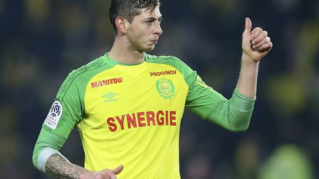 Emiliano Sala was aboard a small passenger plane that went missing off the coast of the island of Gu