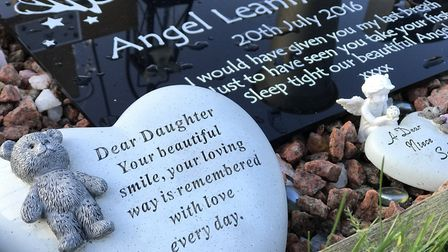 Angel Turner's grave at Earlham Cemetery in Norwich. Picture: Neil Didsbury