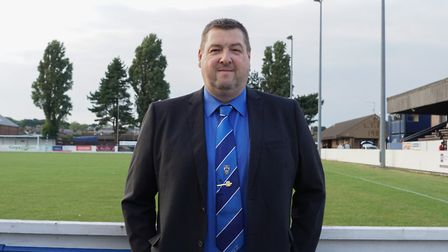 Lowestoft Town chairman Gary Keyzor. Picture: Shirley D Whitlow