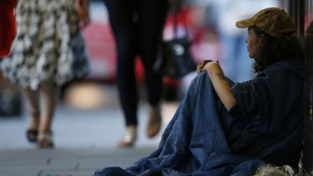 The number of rough sleepers in Norwich has dropped, new figures show, but there have been small inc