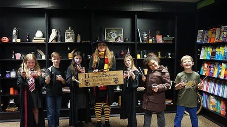 For the past four years Waterstones have hosted the Harry Potter Book Night for young Potterheads. P