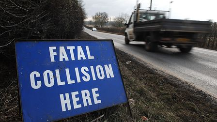 Police are appealing for information about the crash, which happened near the entrance to the Strads