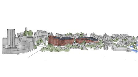 St Mary's Works development. Picture: Our Place