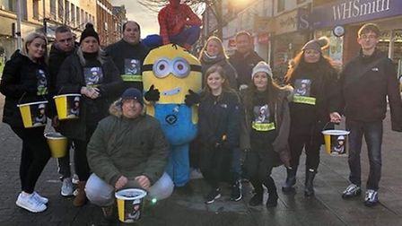 A successful #PrayForJaymen street collection was held in Lowestoft town centre. Pictures: James Rav